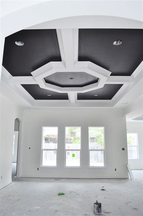 tray ceiling new house update walls tray ceilings doors