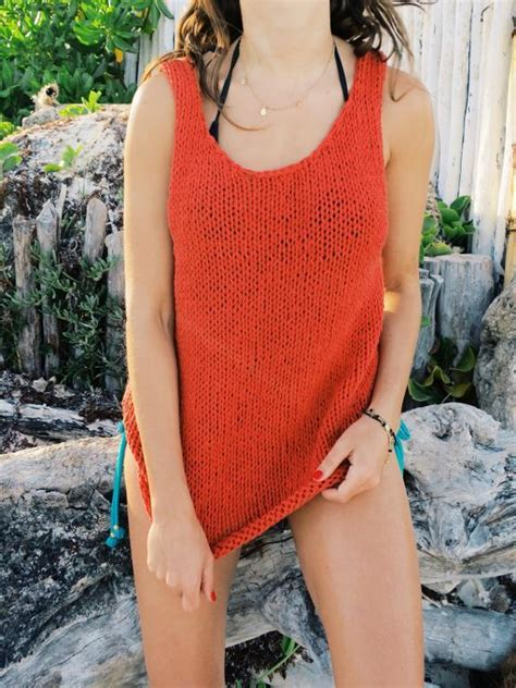 knitted cotton top patterns knit tank top patterns for summer