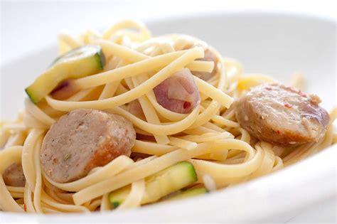 pasta sausage sausage mushroom and zucchini pasta life s ambrosia