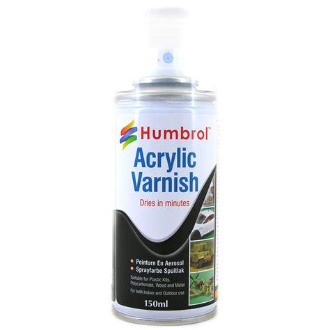 acrylic paint varnish acrylic matt spray paint from humbrol wwsm