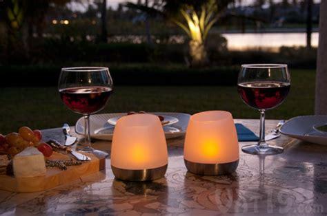 Single Wine Bottle Holder flip n charge flickering led outdoor candles set of 2