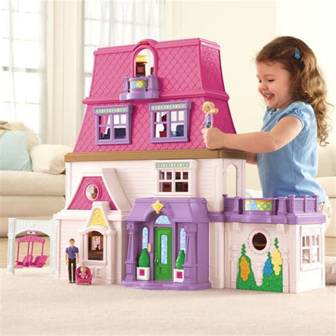 doll house family the loving family mom dad and baby invite you into their spacious stylish 4 floor