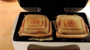 How To Make Sandwich In Toaster Cheese And Ham Toast In A Sandwich Maker Melissa Toaster