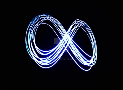 Infinity Light by Infinity By Light Painting By Saseko15 On Deviantart