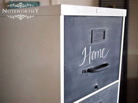 chalkboard paint on metal 1000 images about filing cabinet on planters