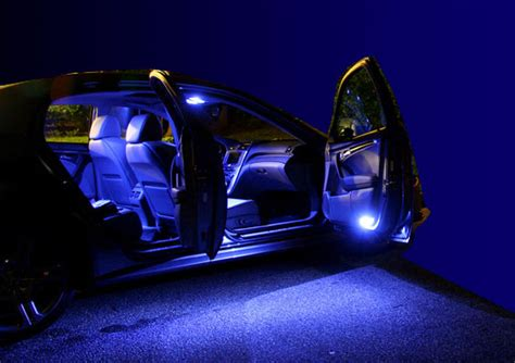 car interior led replacement kit blue white