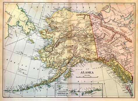map alaska map of alaska alaska maps mapsof net