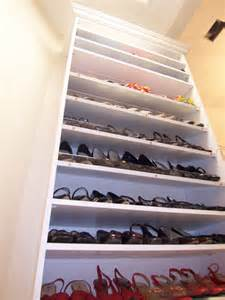 wire shoe racks for closets