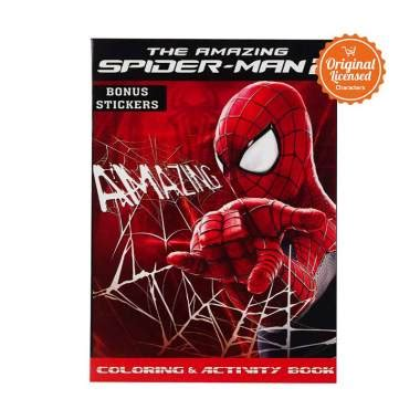 Harga Buku Book Bon by Jual Coloring Book Amazing Spider 2 Buku