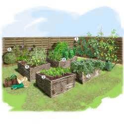 potager au carr 233 jardin potager jardineries truffaut