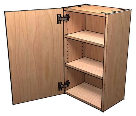 making a kitchen cabinet how to build frameless wall cabinets