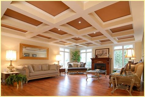 Saltillo Tile Countertop Decorative the beauty and advantages of coffered ceilings in home design