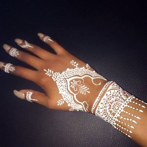 white henna mehndi pinterest white henna hennas and
