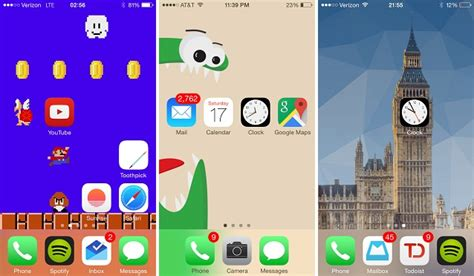 Icon Layout Iphone Jailbreak | how to arrange homescreen icons to create a custom layout