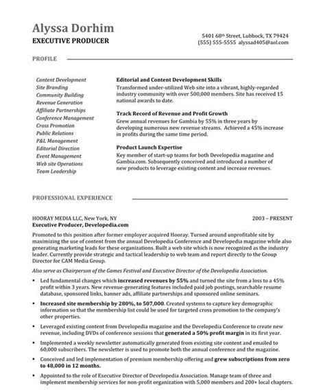 Media Producer Sle Resume by 10 Best Images About New Media Resume Sles On Creative Pop Of Color And Trend