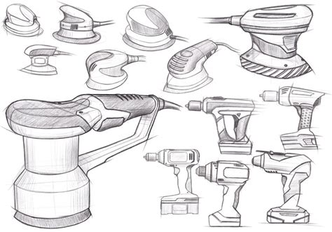 sketch tool power tools by chris murray product design sketches