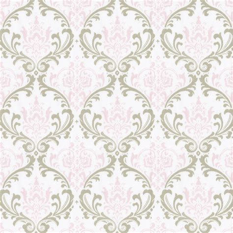 pink damask upholstery fabric pink and taupe damask fabric by the yard pink fabric
