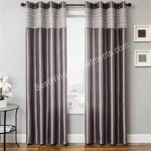 best window curtains gate grommet top curtain panel available in 6 colors