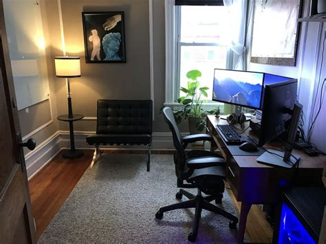 gaming office setup best 25 home office setup ideas on pinterest pink home