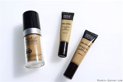 Makeup Forever make up for ultra hd liquid foundation my review bonnie garner skincare makeup nails