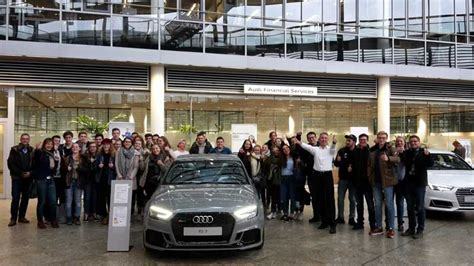 Auslandspraktikum Audi by Wirtschaft Live Bei Audi In Ingolstadt