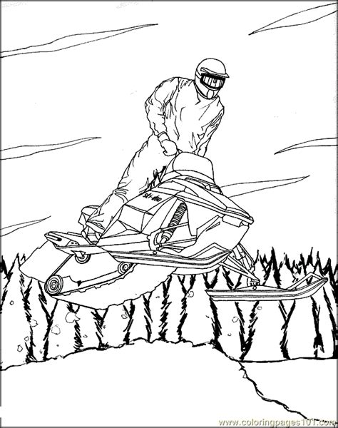 winter sports coloring pages free printable coloring pages winter sports coloring page 06 sports