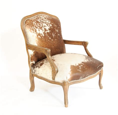 cowhide armchair pair of cowhide queen ann chairs at 1stdibs