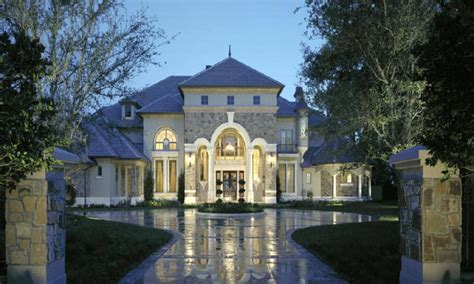 style luxury home plans small chateau homes