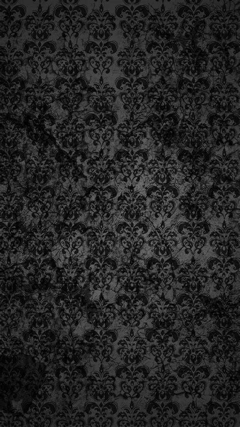 Black Lace Dark Grunge Pattern iPhone 6 Plus HD Wallpaper