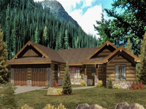 ranch style log home plans ranch style log homes with wrap around porch ranch style