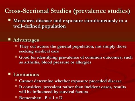 Definition Cross Sectional Study by Descriptive Epidemiology