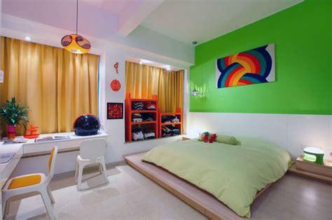 unusual rainbow color inspired apartment design design swan