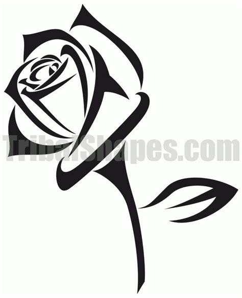 tribal rose tattoo pictures 1000 ideas about tribal tattoos on