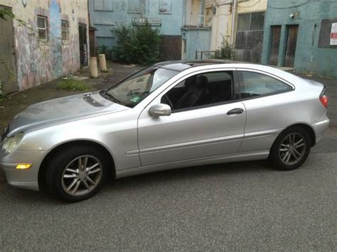 buy used 2002 mercedes c230 kompressor coupe 2 door 2