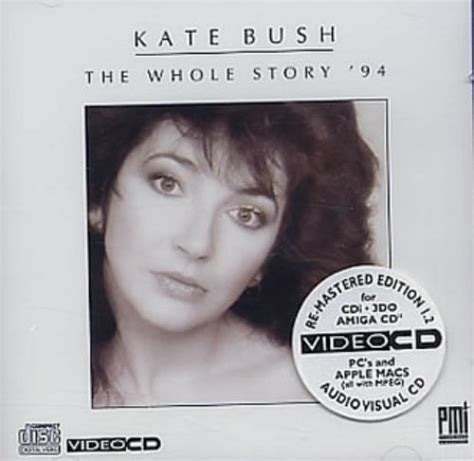 art the whole story kate bush the whole story 94 video cd uk video cd 89812