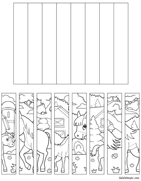 Puzzle 224 Imprimer Et 224 D 233 Couper Les Chevaux Lulu La