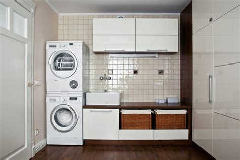 Laundry In Kitchen Design Ideas by Laundry Room Interior Decoration Features