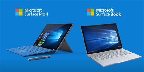 Microsoft Surface Book Pro 4 Surface Surface Book Et Surface Pro 4 1 To Disponibles En Pr 233 Commande Sur Le Microsoft Store