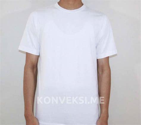 Kaos Polos Baju Oblong Tshirt Combed 30s Grosir Ecer 64 gambar grosir kaos polos baju distro oblong kerah shirt