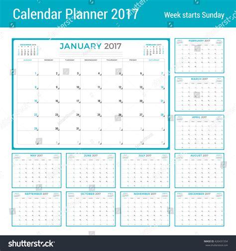 calendar planner july 2017 stock vector illustration of calendar planner 2017 year vector design stock vector