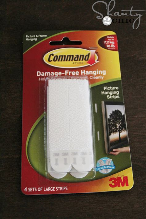 command strips diy photo stocking hangers shanty 2 chic