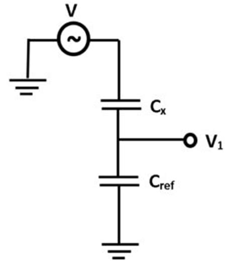 voltage divider for capacitor parasitic capacitance razorbill instruments