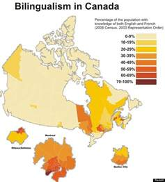bilingualism canada where do speak both official