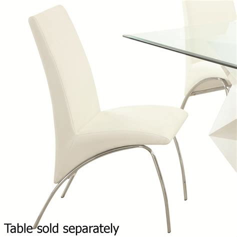 white metal dining chair a sofa furniture outlet