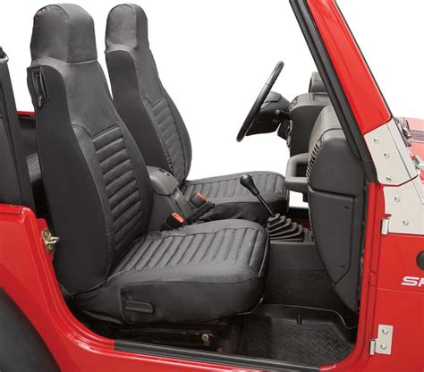 2005 jeep wrangler unlimited seat covers are all bestop seat covers made partially of neoprene