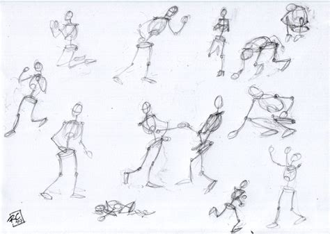 doodle drawing exercises drawing exercise stick figures moving ratcreature s artwork