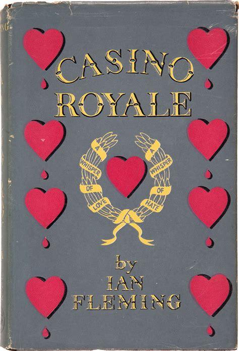 casino how casino books every edition ian fleming bond book cover