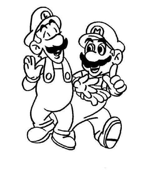 blank coloring pages mario super mario color pages az coloring pages