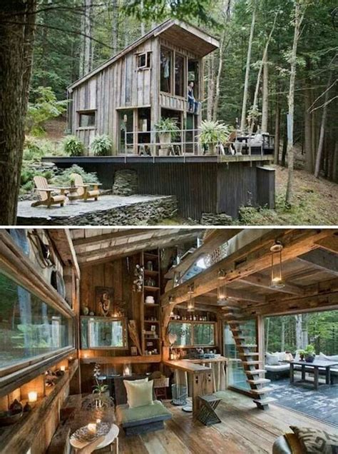small cabin in the woods rustically awesome small cabin in the woods tiny house pins
