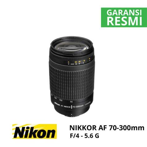 Nikon Af 70 300mm F 4 5 6 G nikon af 70 300mm f 4 5 6g nikkor harga dan spesifikasi